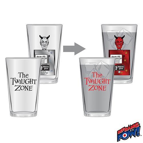 Twilight Zone Mystic Seer Pint Glasses - Geek Decor