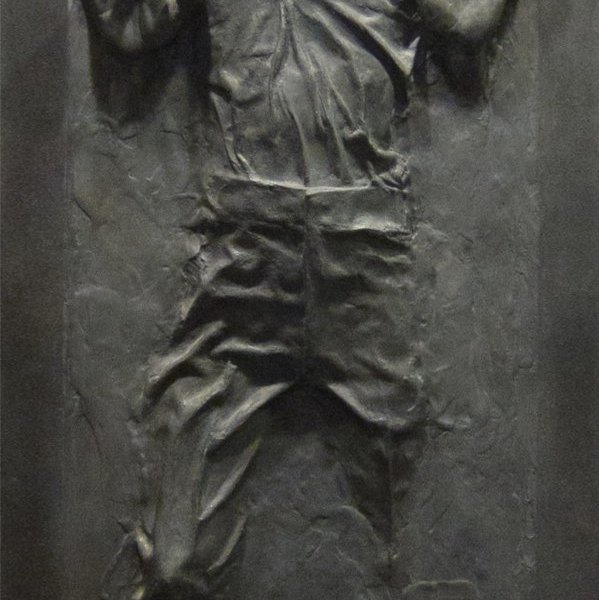 Star Wars Han Solo In Carbonite Wall Graphic Geek Decor
