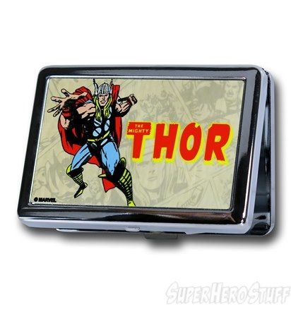 Superhero Business Card Holders - Geek Decor