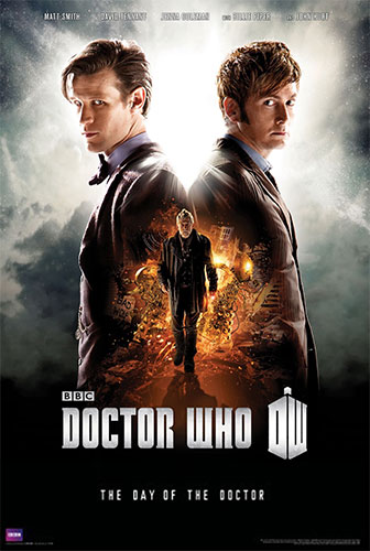 Doctor Who Day Of The Doctor Poster - Geek Decor