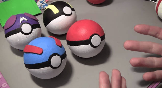 GIY - Do It Yourself Pokeballs From PopCultureCrafts