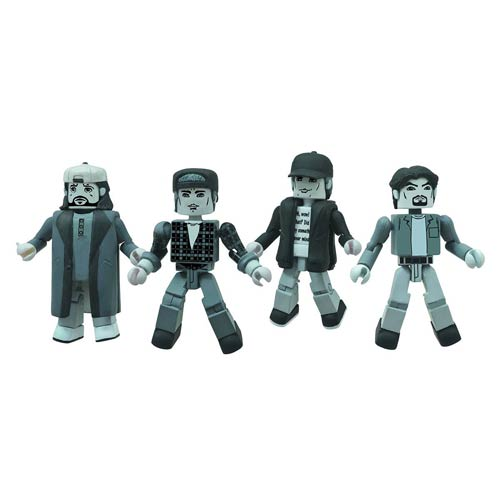 Black & White Clerks Minimates - Geek Decor