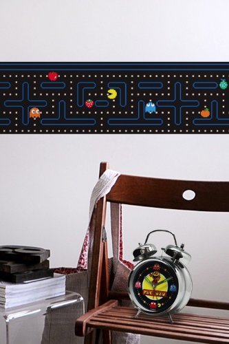 Pac-Man Wall Border Stickers