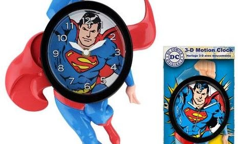 Superman Clock - Geek Decor