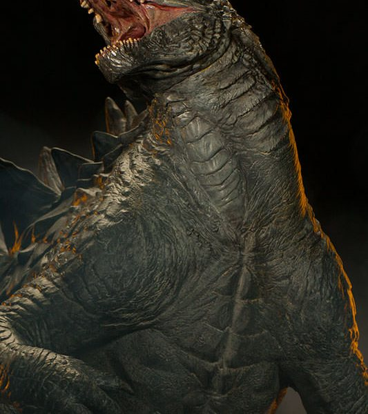 Godzilla Maquette - Geek Decor