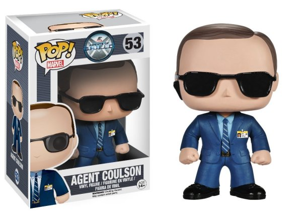 Funko Agents of S.H.I.E.L.D. Agent Coulson Bobblehead - Geek Decor