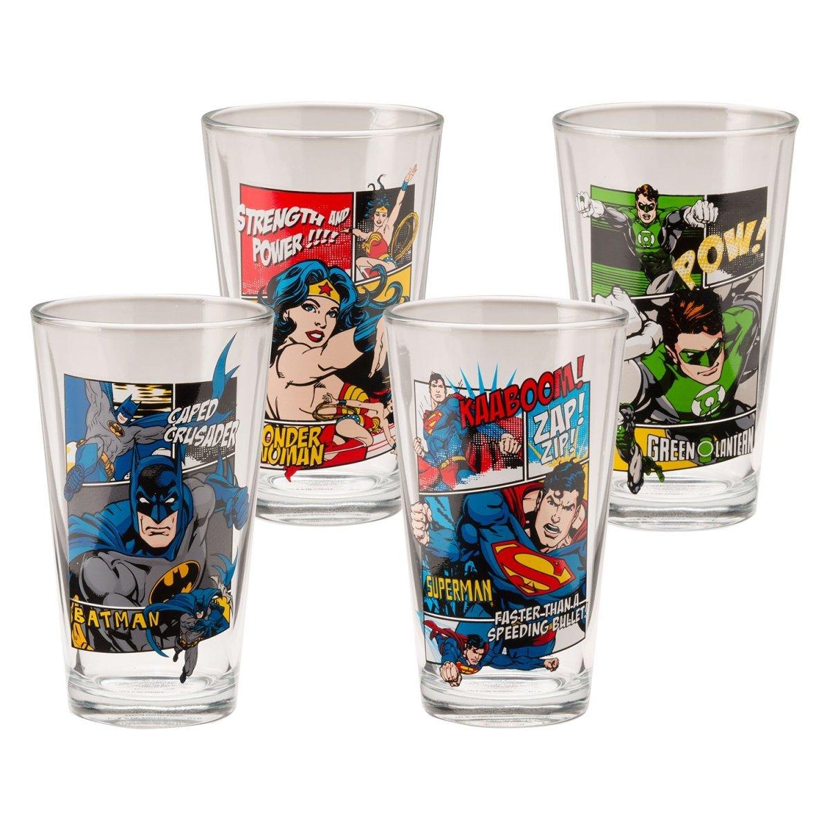 DC Comics Pint Glass Set