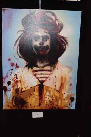 Kevin Eslinger Ronald McDonald Artwork NYCC - Geek Decor