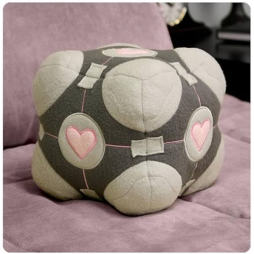 Companion Cube Plush - Geek Decor