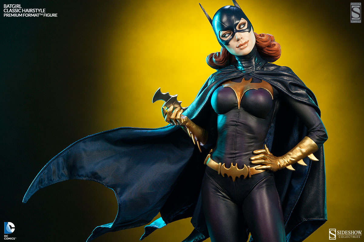 Batgirl Statue, Because Unbelievably, It's Not All About Batman