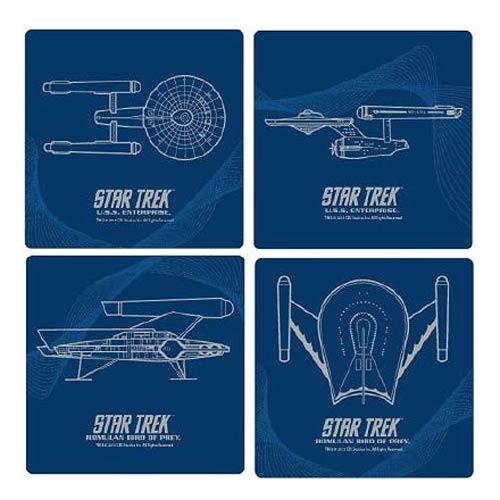 Star Trek Coasters - Geek Decor