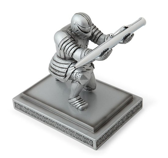 Executive Knight Pen Holder -Geek Decor