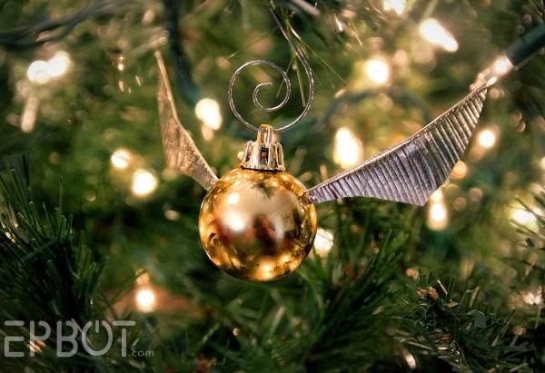 Snitch Ornaments Close-Up - Geek Decor