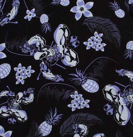 Deadpool Hawaiian Shirt Print - Geek Decor