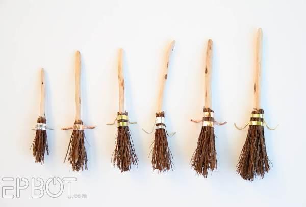 Harry Potter Broom Christmas Ornaments - Geek Decor