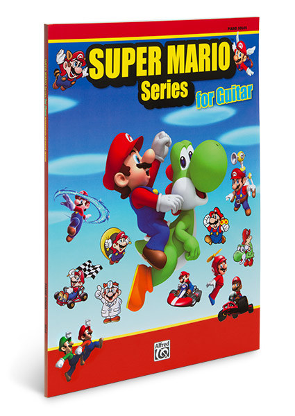 Super Mario Songbook Cover Geek Decor