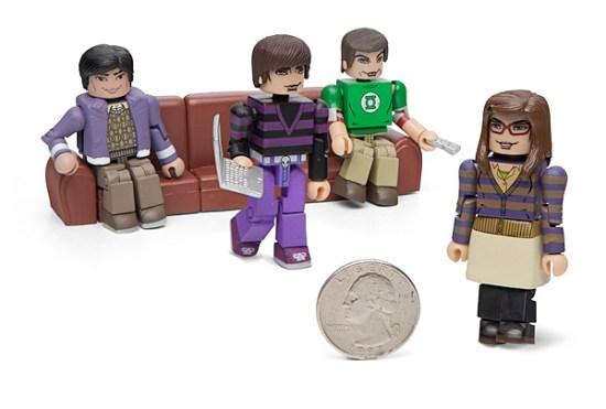 Big Bang Theory Minimates Set 1 - Geek Decor
