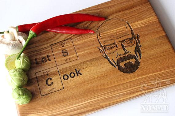 Breaking Bad Cutting Board - Geek Decor