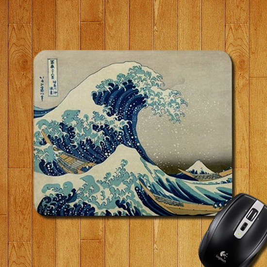Great Wave Mouse Pad - Geek Decor
