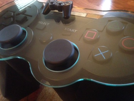 Playstation Controller Coffee Table - Geek Decor
