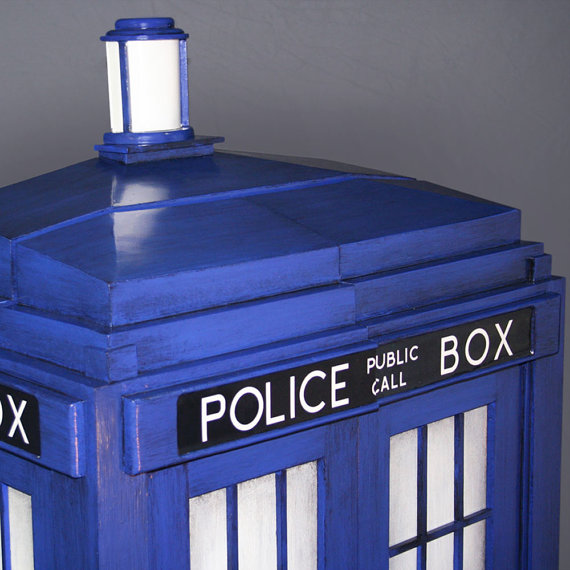Doctor Who Shelving System Top - Geek Decor