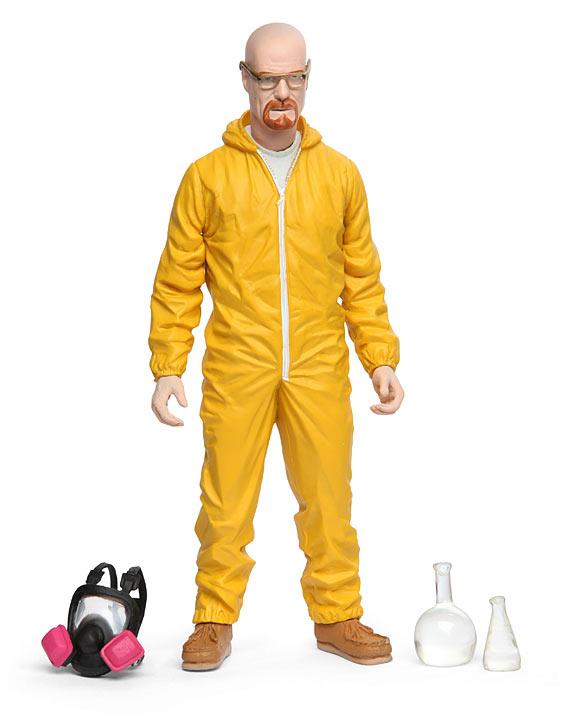 Walt White Hazmat Figure Full Set - Geek Decor