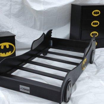 Batman Bedroom 3-Piece Set - Geek Decor