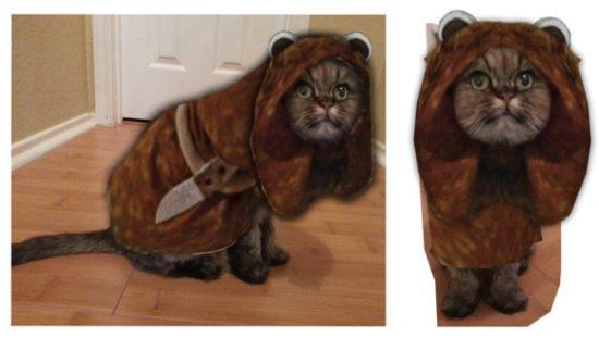 Ewok Cat Costume - Geek Decor