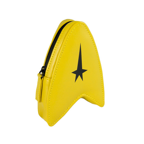 Star Trek Yellow Coin Purse - Geek Decor
