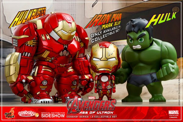 Avengers Age of Ultron Collectible Set of 3 - Geek Decor