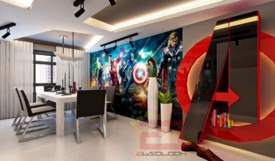 Avengers Apartment - Geek Decor