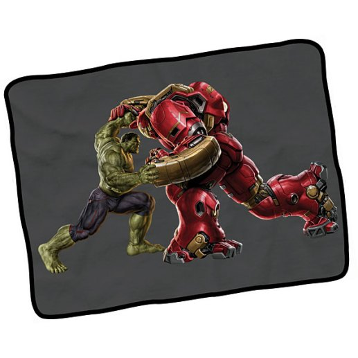 Hulkbuster Fleece - Geek Decor