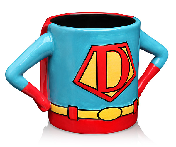 Superhero Dad Mug Front - Geek Decor