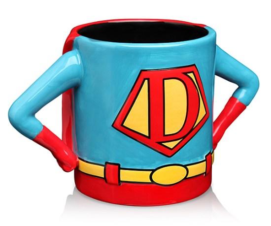Superhero Dad Mug Front - Geek Decor