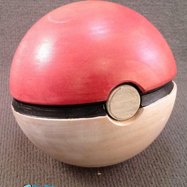 Pokeball Ring Box Closeup -Geek Decor
