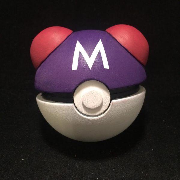 Pokeball Ring Box Masterball -- Geek Decor