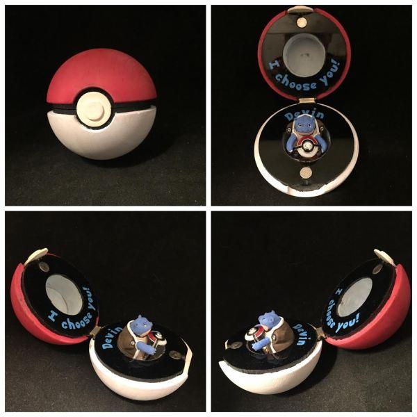 Pokeball Ring Box Blastoise -Geek Decor