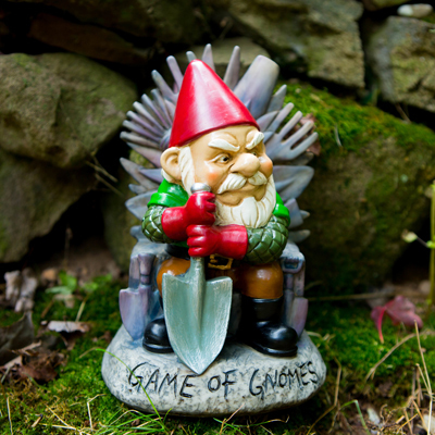 Game of Gnomes Gnome - Geek Decor