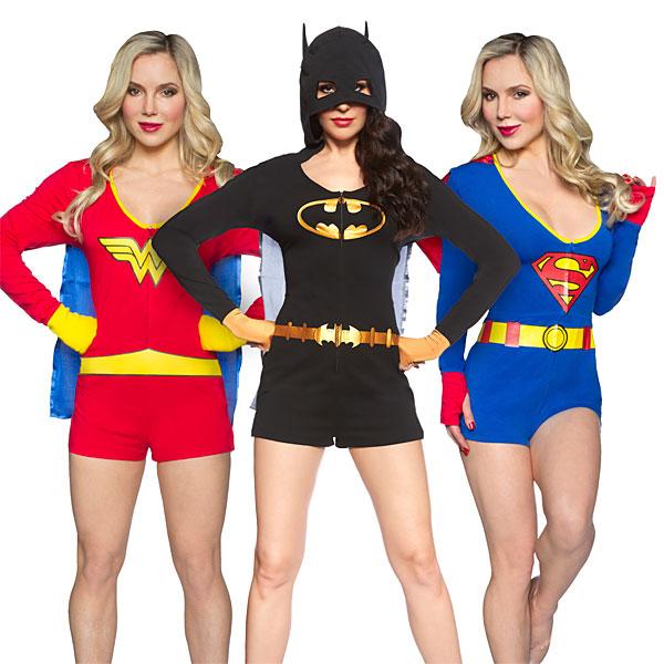 Superheroine Rompers - Geek Decor