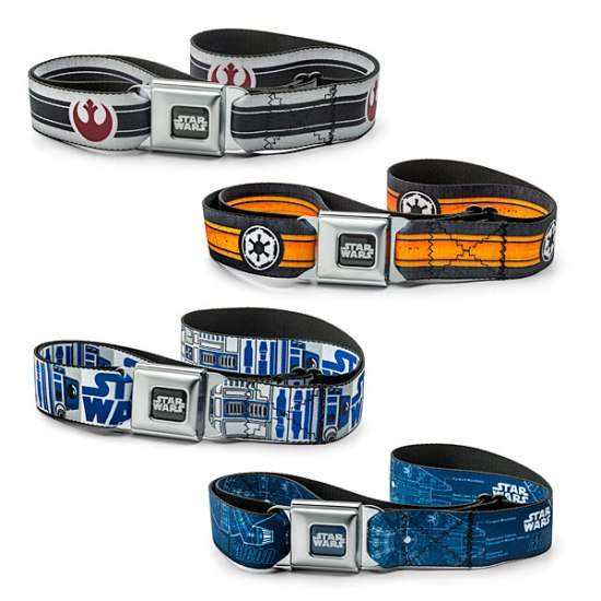 Star Wars Belts -- Geek Decor