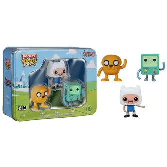 Adventure Time Miniature Vinyl Pop Figures - Geek Decor