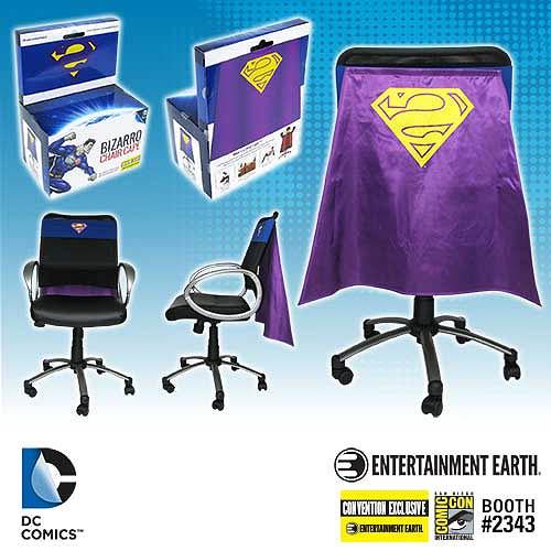 Bizarro Chair Cape - Geek Decor