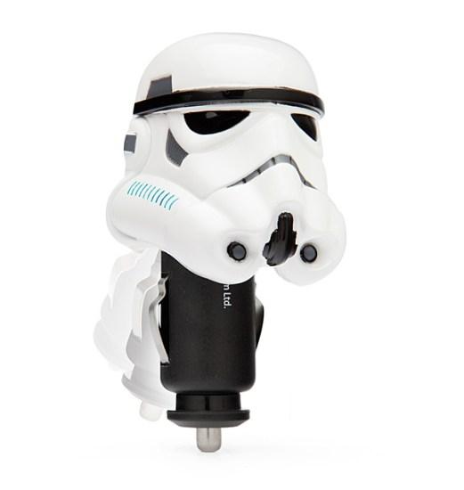 Stormtrooper Car Charger Closeup - Geek Decor