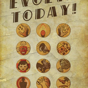 Bioshock Plasmid List Poster -- Geek Decor