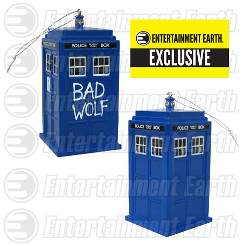 Doctor Who Bad Wolf Ornament - Geek Decor