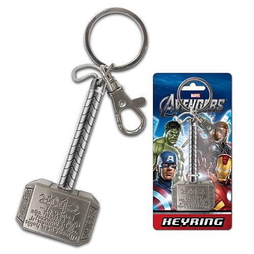 Thor's Mjolinir Keychain -- Geek Decor