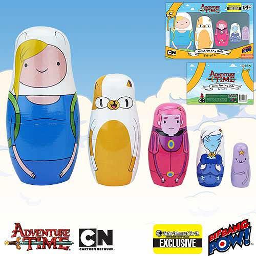 Adventure Time Fionna & Cake Nesting Dolls - Geek Decor
