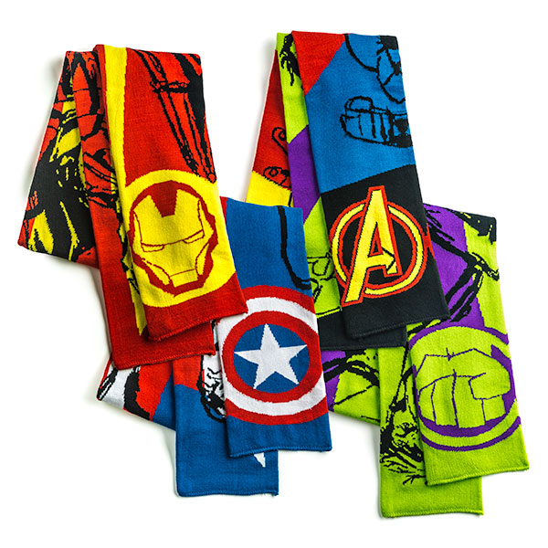 Avengers Assemble Scarves - Geek Decor