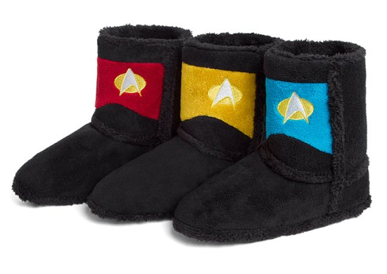 Star Trek Boot Slippers - Geek Decor