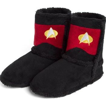 Star Trek Boot Slippers Command - Geek Decor